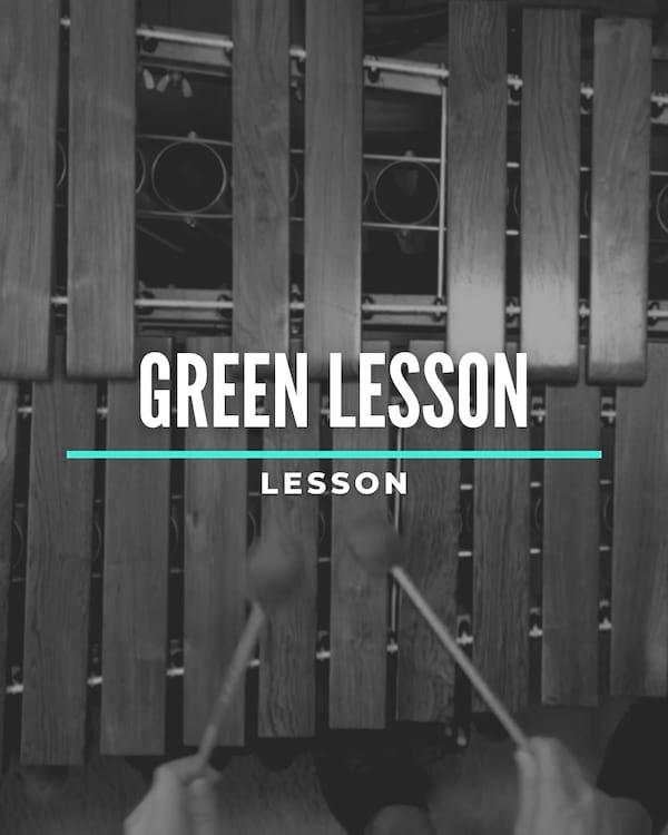 Green Lesson