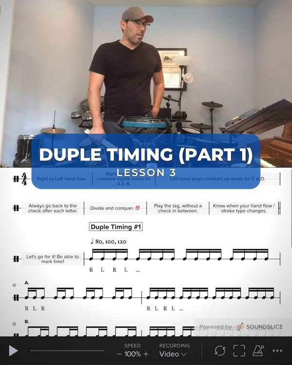 Duple Timing #1