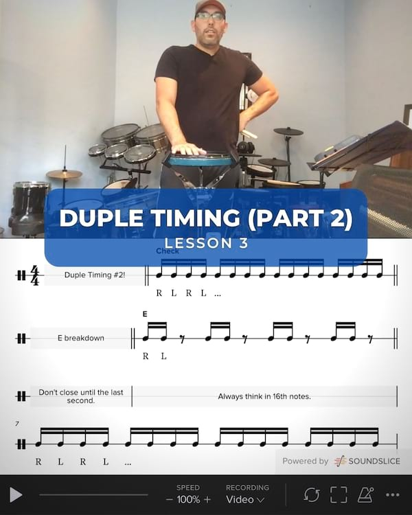 Duple Timing #2