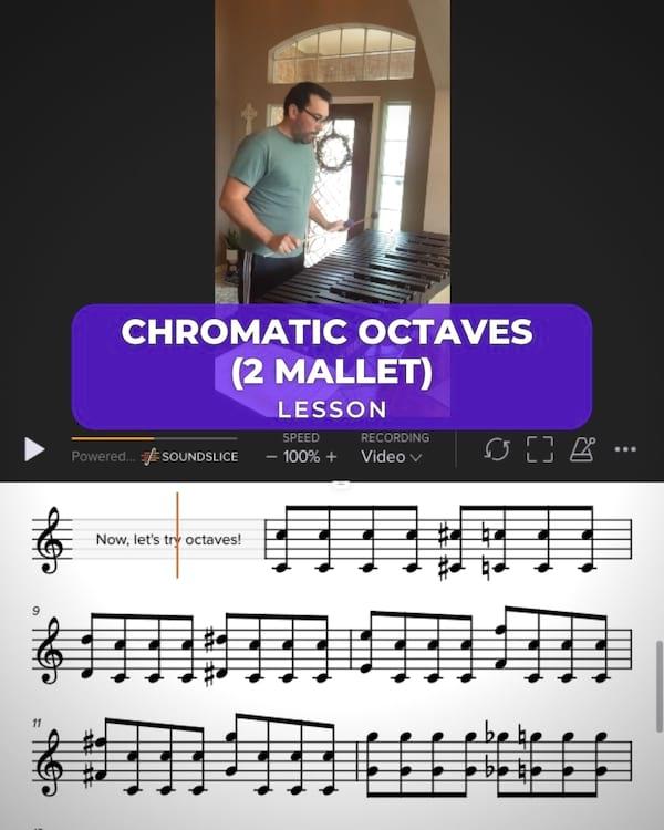 2 8ve Chromatic & 8ve's