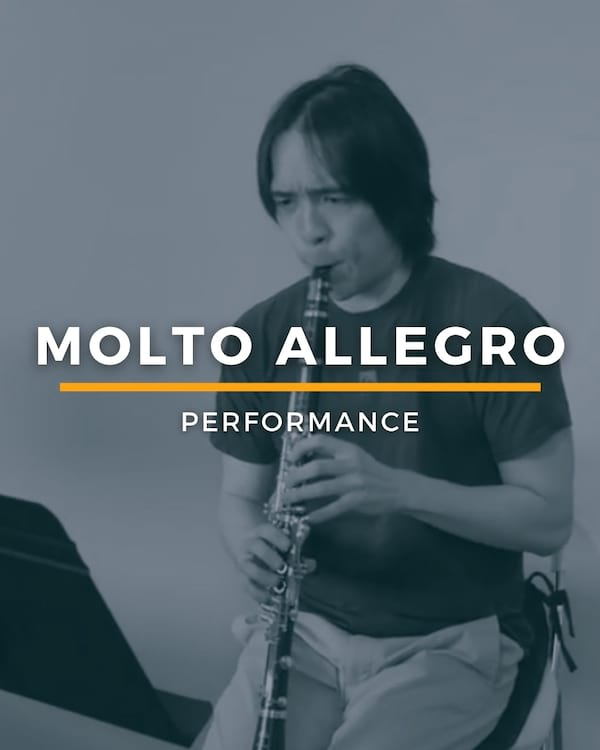 Molto Allegro - Full Run