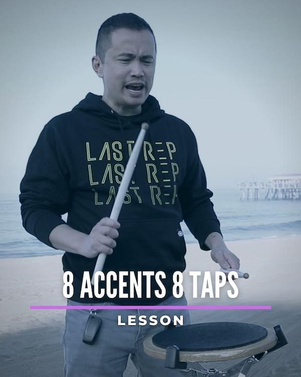 8 Accents 8 Taps