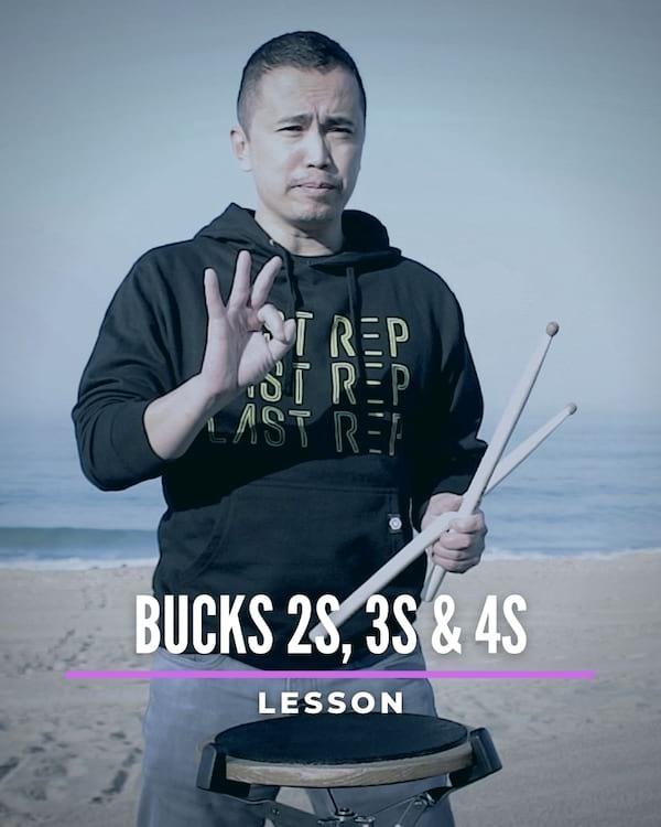 Bucks 2s, 3s & 4s
