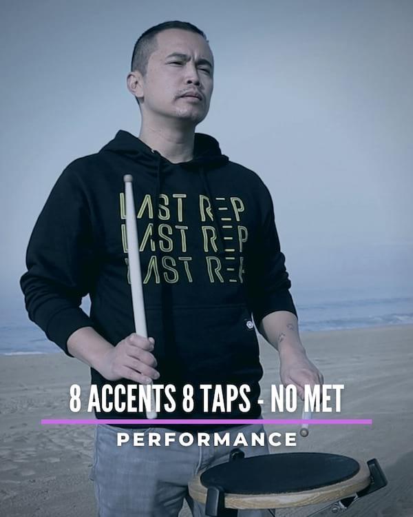 8 Accents 8 Taps No Met
