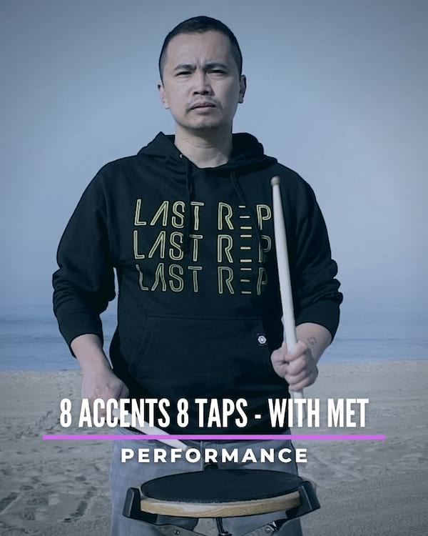 8 Accents 8 Taps with Met