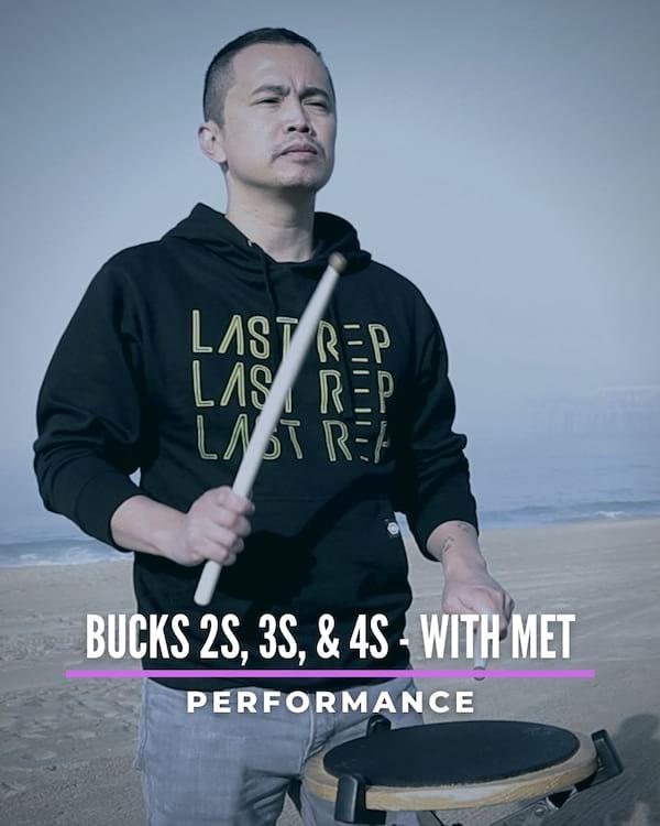 Bucks 2s, 3s & 4s with Met