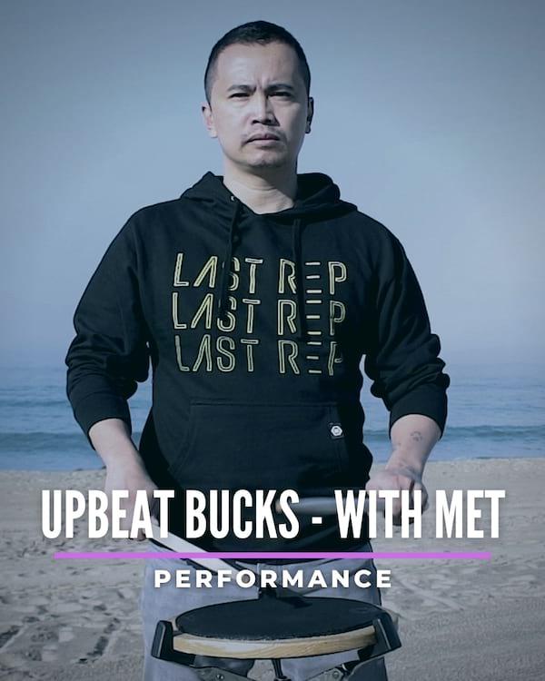 Upbeat Bucks with Met