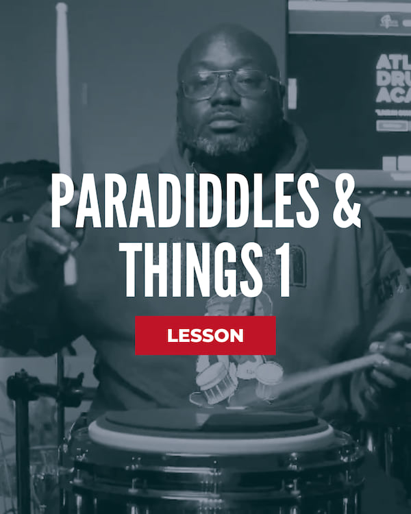 Paradiddles & Things 1