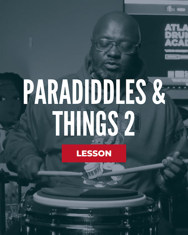 Paradiddles & Things 2