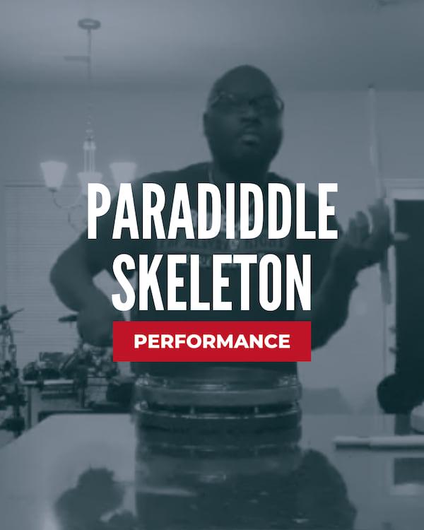 Paradiddle Skeleton