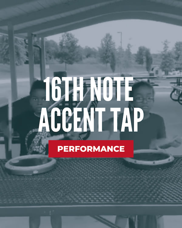 16th Note Accent Tap