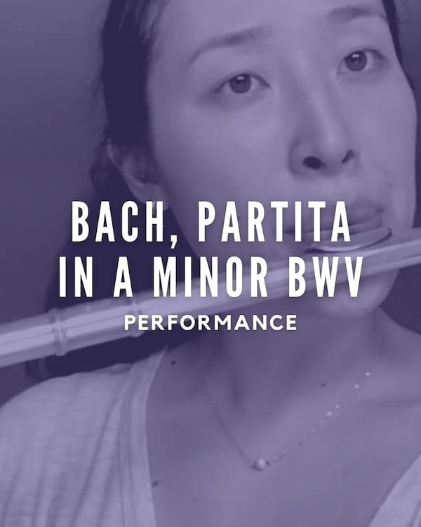 Bach, Partita in A Minor BWV 1013