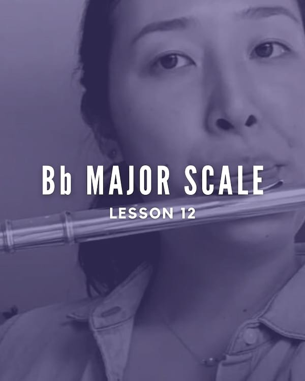 Bb Major Scale