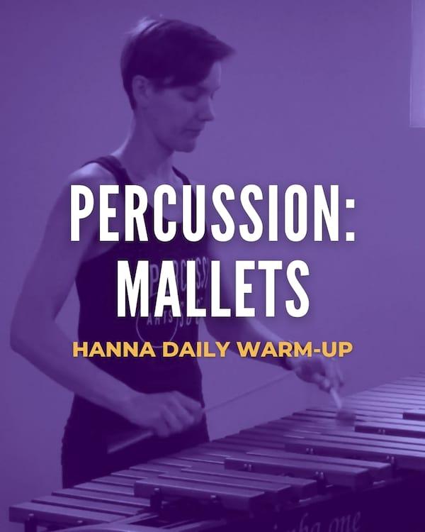 Percussion: Mallets