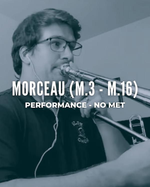 Morceau (m. 3 to m. 16)
