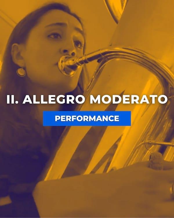 II. Allegro Moderato