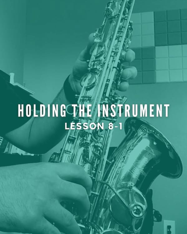 Holding the Instrument