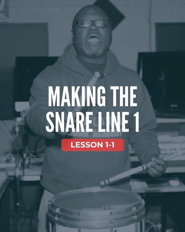 Making the Snare Line 1