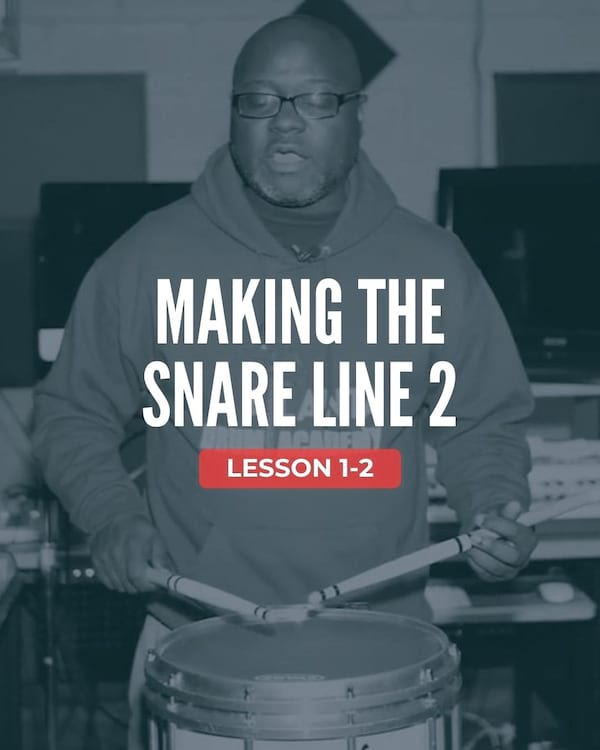 Making the Snare Line 2