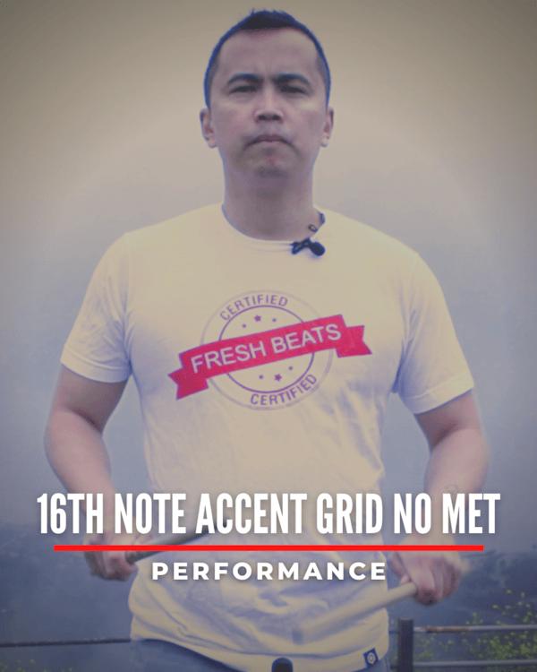 16th Accent Grid No Met
