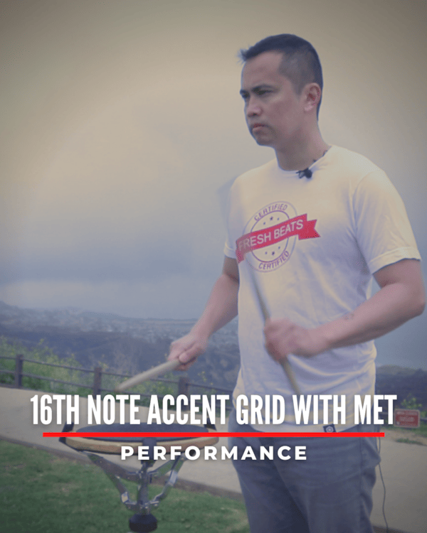 16th Accent Grid with Met
