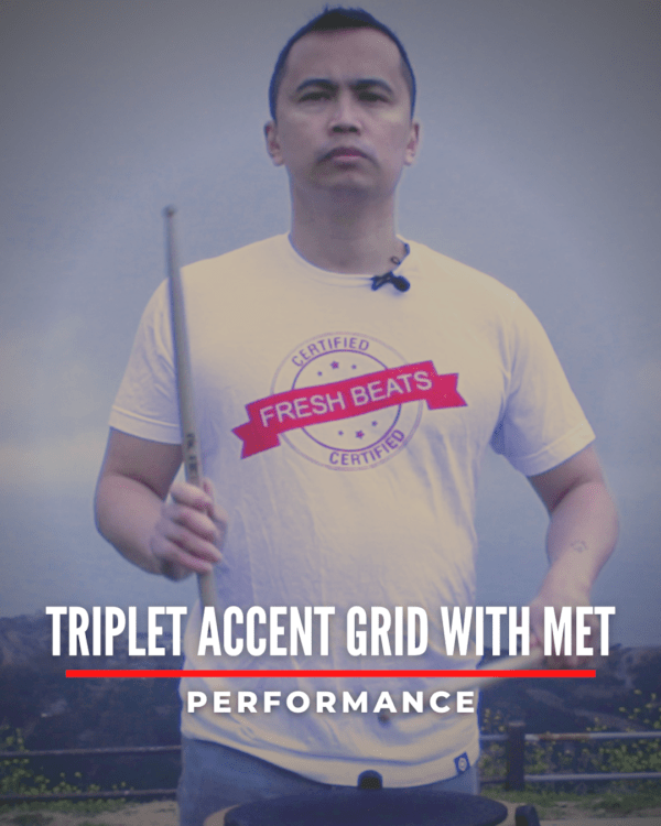 Triplet Accent Grid with Met